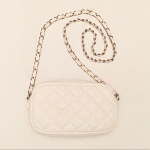 Forever 21 Crossbody White Bag